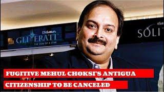 Fugitive Mehul Choksi's Antigua citizenship to be canceled