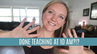 HOW I FINISH TEACHING BY 10 AM! || HOMESCHOOL MOM OF 4