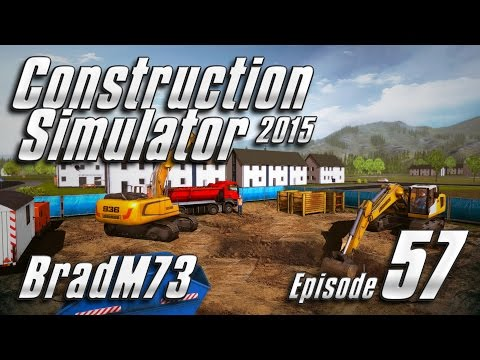 Construction Simulator 2015 GOLD EDITION - Episode 57 - Modern Office Building Part 1