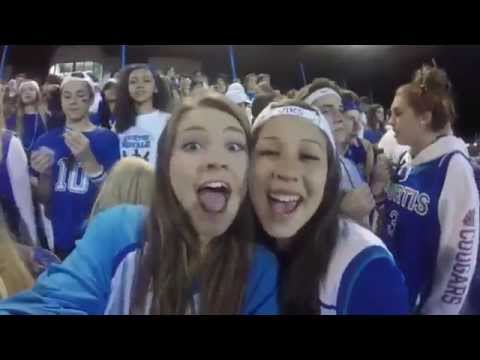 Curtis High School Fan Section: Curtis vs. Rogers (Homecoming) 2015