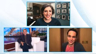 Jim Parsons & Mayim Bialik Talk Cats and Reuniting for Their New Show