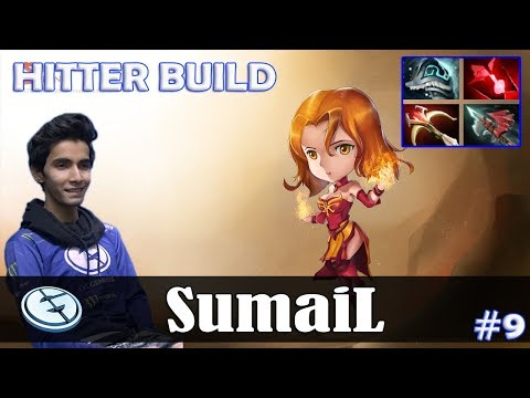 SumaiL - Lina MID | HITTER BUILD | Dota 2 Pro MMR Gameplay #9 thumbnail