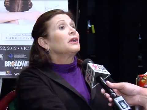 CARRIE FISHER UN-EDITED