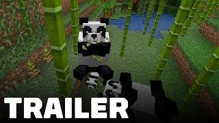 Minecraft Panda Update Trailer