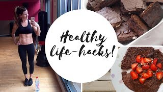 9 healthy lifestyle and beauty hacks you should know! this video is all about making your life easier by little tweaks to day, from food fitne...