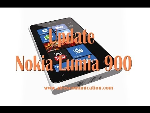 How To Update Nokia Lumia 900