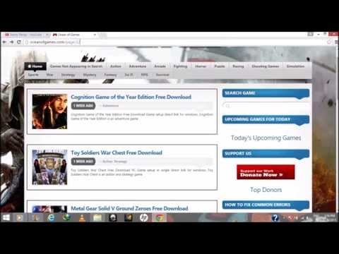 How to Download FREE PC Games 2016 - 110% Working from YouTube · Duration:  2 minutes 33 seconds