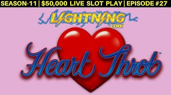 How Many Bonuses Can I Get With $2,000 On Hearth Throb Lightning Link Slot | Season 10 | Episode #27