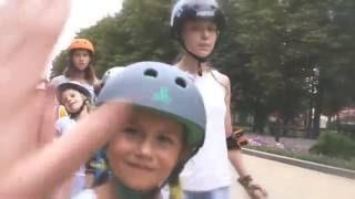 Детский фрискейт | Тренировка роллер школы 4roller.info