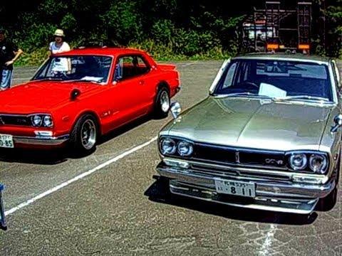Nissan Skyline C110型 Amp C10型 ケンメリgtxe ・ハコスカgtr・ハコスカgt改