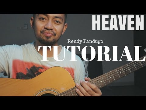 Rendy Pandugo guitar intro tutorial (Heaven)