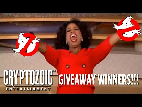 Cryptozoic Entertainment's Ghostbusters Giveaway Winners!!!