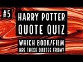 Harry Potter Quote Quiz #5 | How Good Is Your Harry Potter Knowledge?