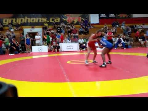 2015 Canada Cup: 53 kg Jade Parsons (CAN) vs. Yamilka Alvarez del Valle (CUB)