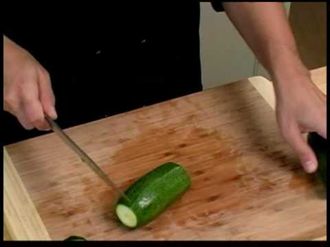 Cooking Tips : How to Cut Zucchini for Grilling