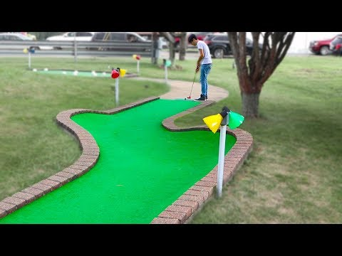 Mini Golf - Let's Play for REAL - Dimple Course