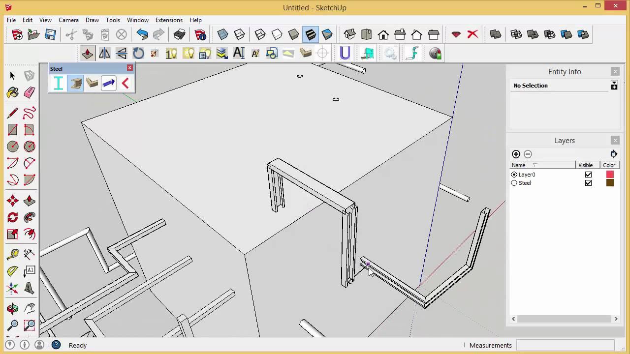 Extension - การพัฒนา Extennsion งานเหล็กของไทย | 3DeeD com