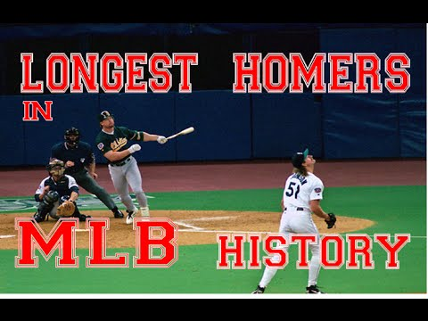 (UPDATED 2015) Longest Homers in MLB History HD