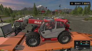 Farm Sim Saturday picking up seed stock and some baling sweet day! EP 03