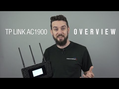 TP-LINK Touch P5 Router: Overview