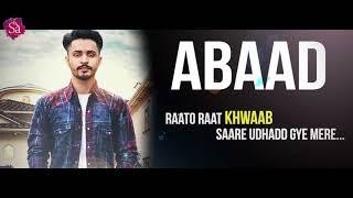 New Punjabi Songs 2017 Abaad Lyrical Mehak Bhinder New Punjabi Hits Sa Records