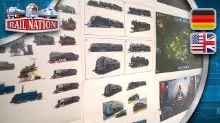 Rail Nation | Teaser - Karriere-Lok Gestaltung | Career Engine Design