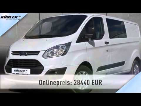 ford transit custom doka kasten 310 l2 trend 34 youtube. Black Bedroom Furniture Sets. Home Design Ideas