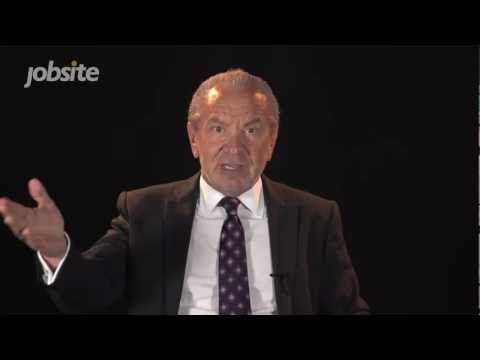 Lord Sugar Job Interviews You - Introduction - from Jobsite TV