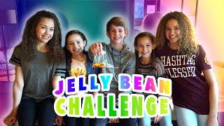 The Jelly Bean Challenge!  (MattyBRaps vs Haschak Sisters)