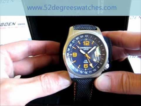 170c285299d Torgoen T05401 GMT Swiss Professional Pilots Watch