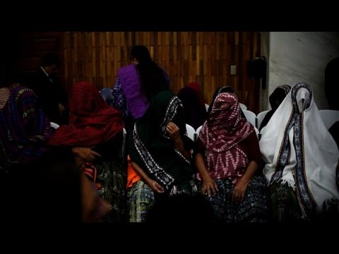 Two sentenced for sexual slavery during Guatemala civil war