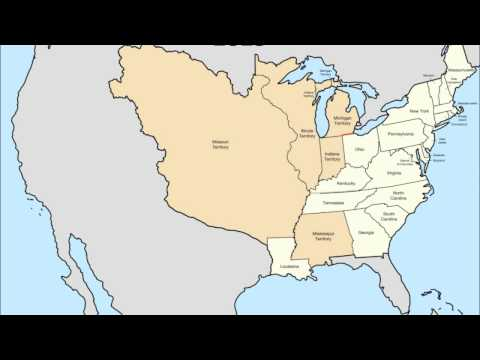 Territorial Evolution of the Continental United States