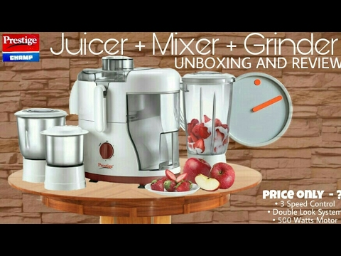 d020ddc5d Prestige Champ 550w Juicer Mixer Grinder