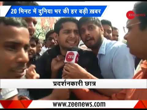 Morning Breaking: Students protest outside SSC office in Delhi continues