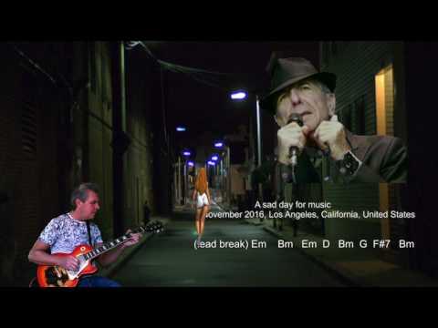 I'm Your Man - Leonard Cohen - Chords and Lyrics - Cover - 2017 - by Steve.B