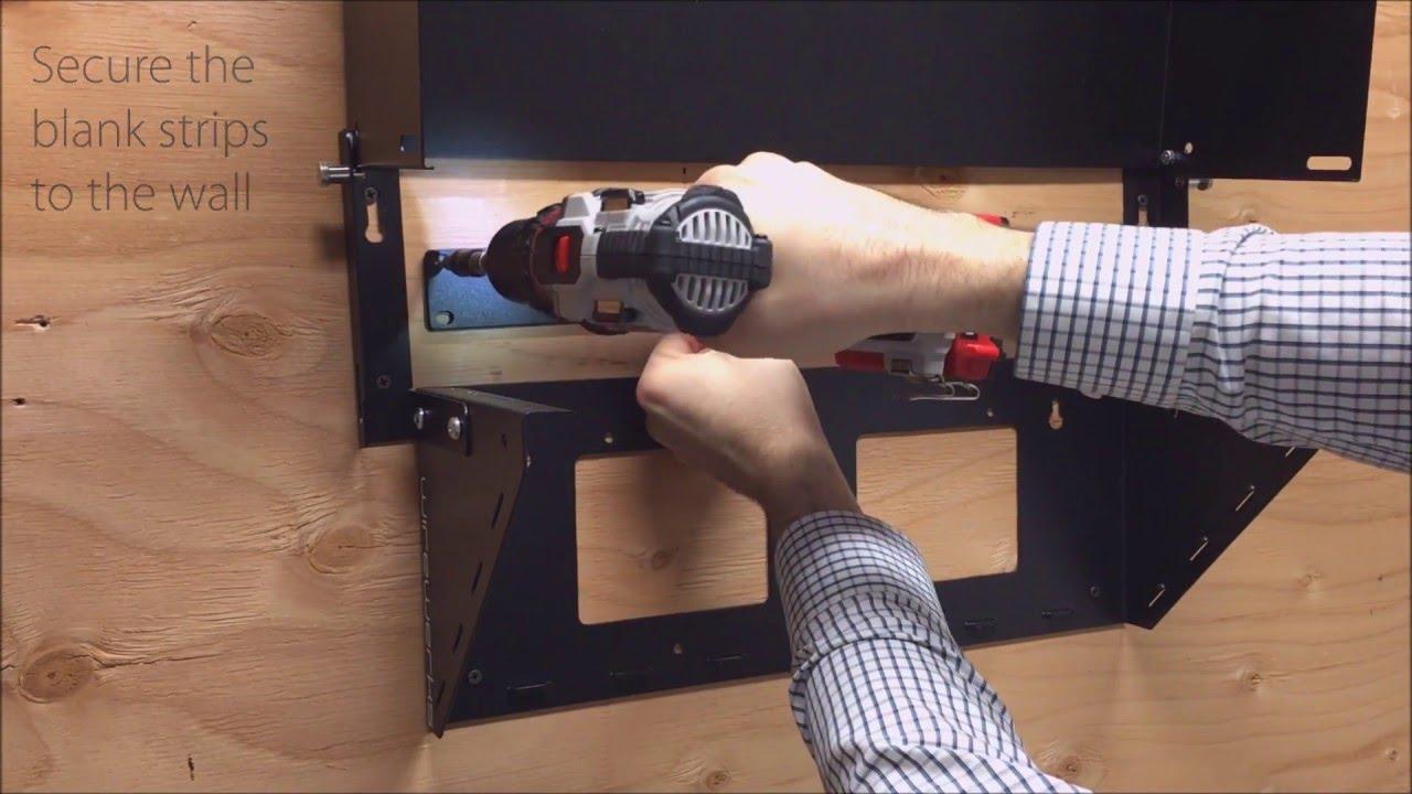 Wirewerks 4u Vertical Wall Mount Installation Video