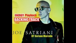 Joe Satriani Energy ( BACKING TRACK ) Playback