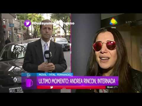 Andrea Rincón habría sufrido una recaída de su adicción y fue internada