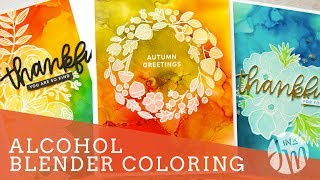 Alcohol Blend Coloring