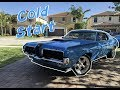 1970 Cougar Eliminator 351 Cold Start and Idle Sound