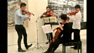 Mozart String Quartet KV387, 4th Movement: Molto Allegro