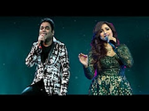 Shreya Ghoshal and A  R  Rahman Last night soulful live performance 2016 || WhatsApp Fun video