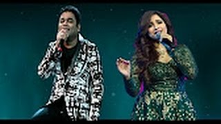 Shreya Ghoshal And A  R  Rahman Last Night Soulful Live Performance 2016  Whatsapp Fun Video