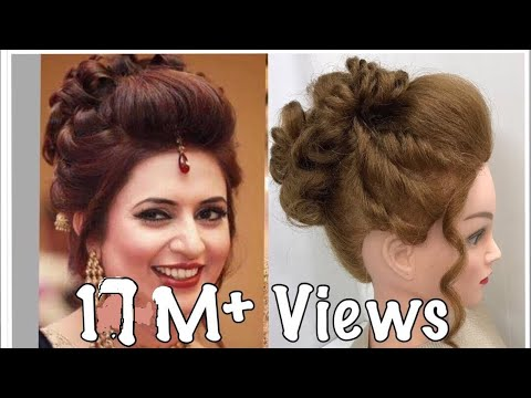 Wedding Hairstyles: 3 Beautiful Easy Hairstyles With Puff