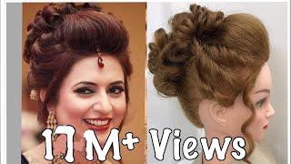 3 Beautiful Hairstyles with puff: Easy Wedding Hairstyles