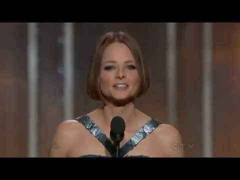 Jodie Foster  Golden Globe Awards 2013