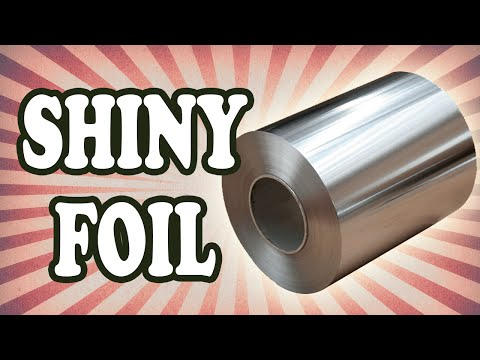 Why Is Aluminum Foil Shiny On One Side But Not The Other?