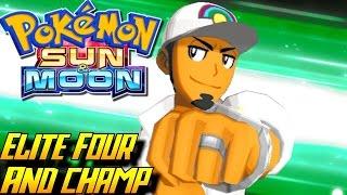 Pokémon Sun and Moon - Elite Four & Champion Kukui Battle! ENDING