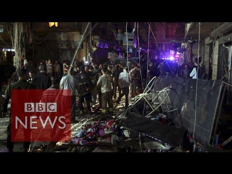 Dozens killed in Lebanese Hezbollah area - BBC News
