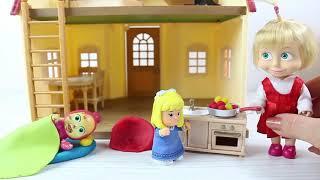 Maşa Ve Klara Evcilik Oynuyor Maşa Yeni Oyuncakları İle Oyun Oynuyor Maşa İzle